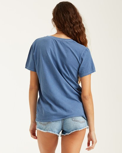1 Take Me Back - T-Shirt für Frauen Blau T3SS01BIS0 Billabong