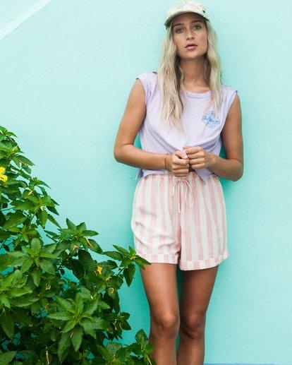0 Love Of Summer - Camiseta Crop para Mujer Multicolor T3SS03BIS0 Billabong