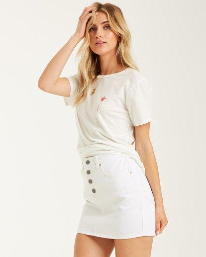 2 Stars and Palms - Camiseta para mujer Blanco T3SS05BIS0 Billabong