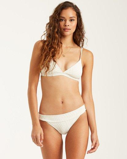 1 Peeky Days - Triangle Bikini Top for Women White T3ST10BIS0 Billabong
