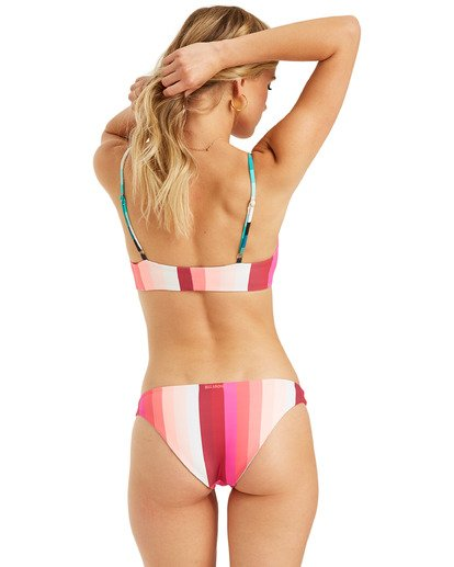 8 Sol Stripes Rev - Top de bikini bralette reversible para Mujer Multicolor T3ST20BIS0 Billabong