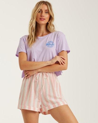 1 Mon Amor - Shorts für Frauen Rosa T3WK03BIS0 Billabong