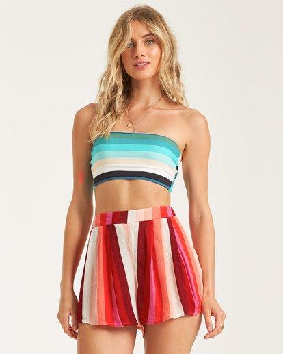 3 La Jupe - gemusterte Shorts für Frauen  T3WK06BIS0 Billabong