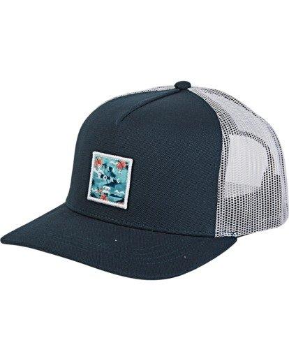 0 Stacked - Trucker Cap Blue T5CT01BIS0 Billabong