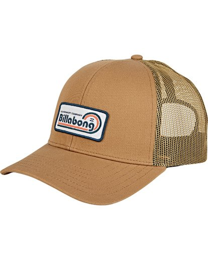 2 Walled - Trucker Cap Beige T5CT02BIS0 Billabong
