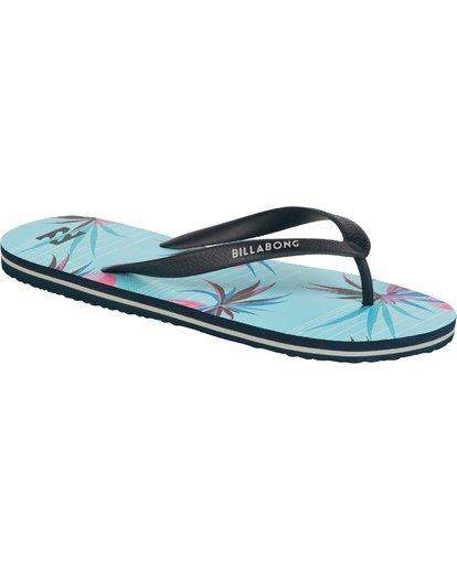 3 Tides - Zehensteg-Sandalen für Männer Blau T5FF02BIS0 Billabong