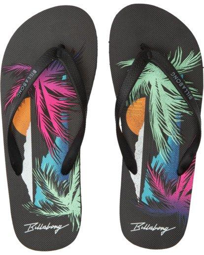 0 Tides - Zehensteg-Sandalen für Männer Schwarz T5FF02BIS0 Billabong
