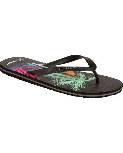 3 Tides - Zehensteg-Sandalen für Männer Schwarz T5FF02BIS0 Billabong