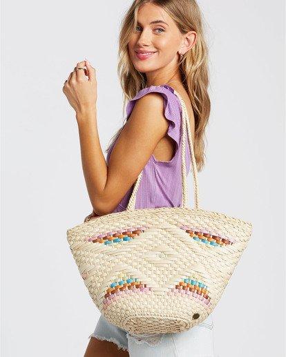 1 Summer Lovin - Straw Bag for Women Beige T9BG02BIS0 Billabong