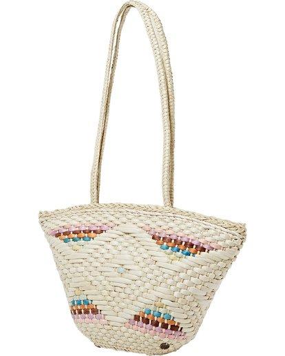 3 Summer Lovin - Straw Bag for Women Beige T9BG02BIS0 Billabong