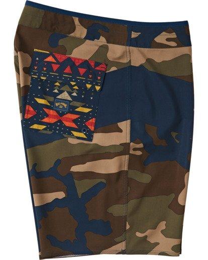 6 T Street Airlite - Boardshort pour Homme Camo U1BS01BIF0 Billabong