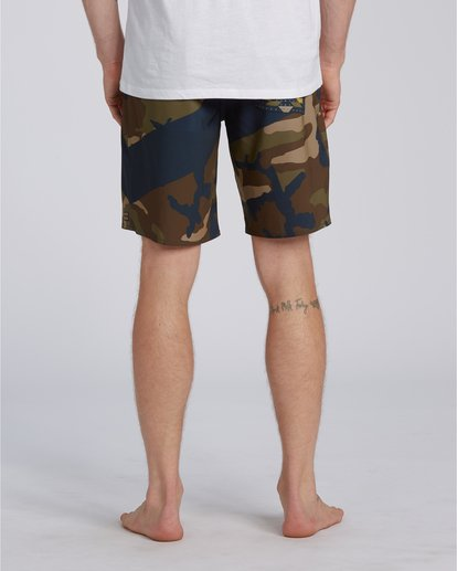 1 T Street Airlite - Boardshorts para Hombre Camo U1BS01BIF0 Billabong