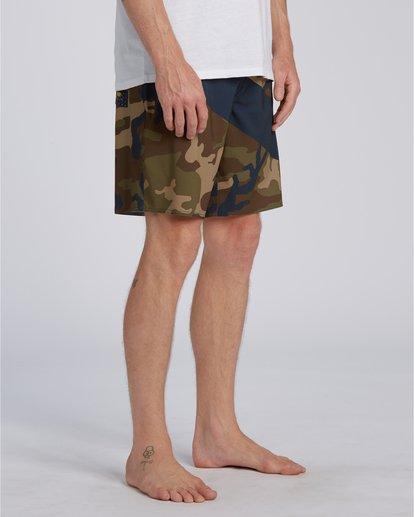 2 T Street Airlite - Boardshorts para Hombre Camo U1BS01BIF0 Billabong