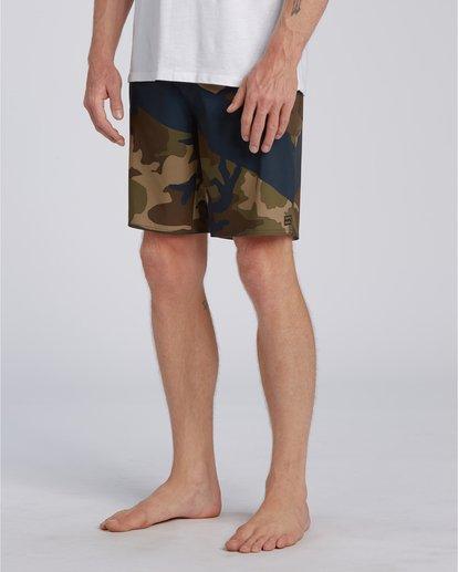 3 T Street Airlite - Boardshorts para Hombre Camo U1BS01BIF0 Billabong
