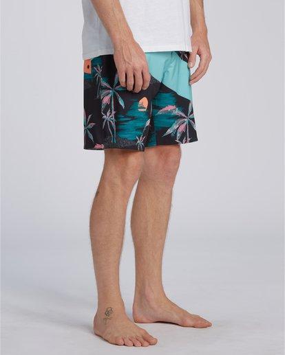 2 T Street Airlite - Boardshorts para Hombre Azul U1BS01BIF0 Billabong