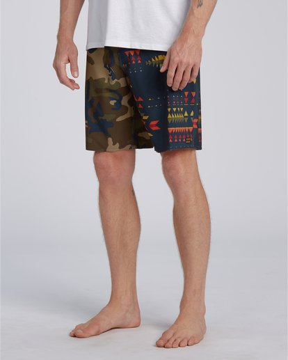 3 Sundays Interchng Pro - Boardshort pour Homme Orange U1BS07BIF0 Billabong