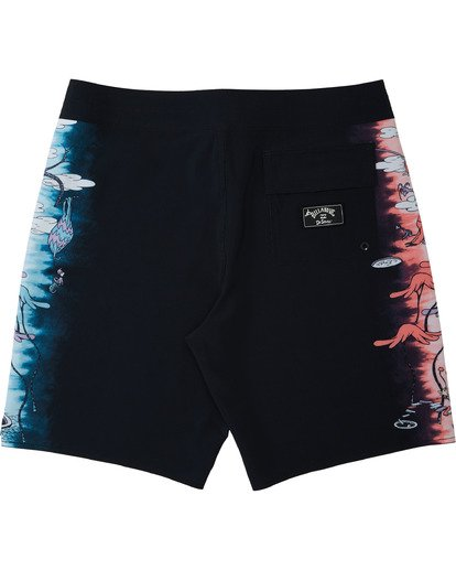 5 Dr Seuss All The Places Dbah - Boardshort pour Homme Noir U1BS12BIF0 Billabong