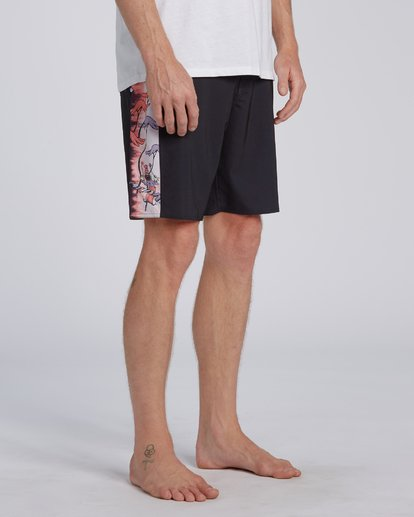 2 Dr Seuss All The Places Dbah - Boardshort pour Homme Noir U1BS12BIF0 Billabong