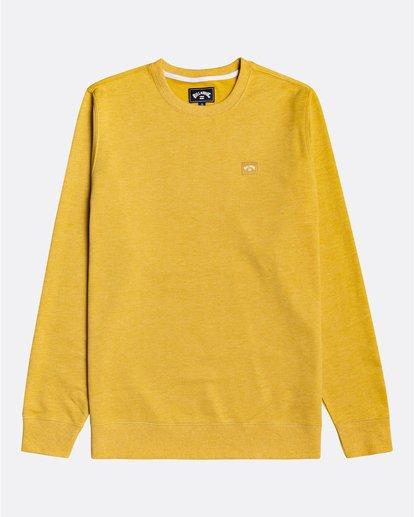 0 All Day - Sweatshirt for Men Yellow U1FL03BIF0 Billabong