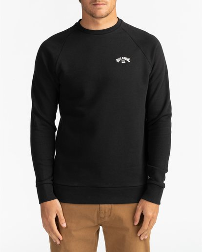 2 Original Arch - Sweatshirt for Men Black U1FL06BIF0 Billabong