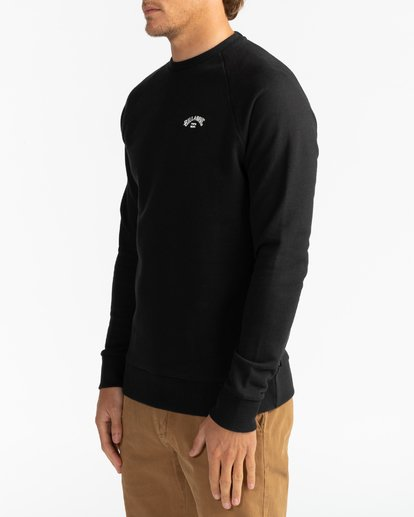 3 Original Arch - Sweatshirt for Men Black U1FL06BIF0 Billabong