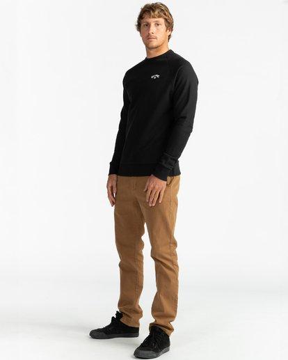 4 Original Arch - Sweatshirt for Men Black U1FL06BIF0 Billabong