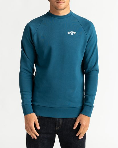 2 Original Arch - Sweatshirt for Men Blue U1FL06BIF0 Billabong