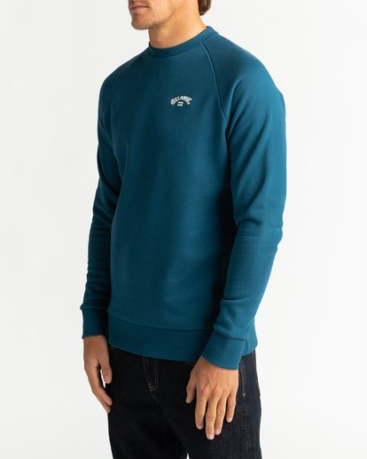3 Original Arch - Sweatshirt for Men Blue U1FL06BIF0 Billabong