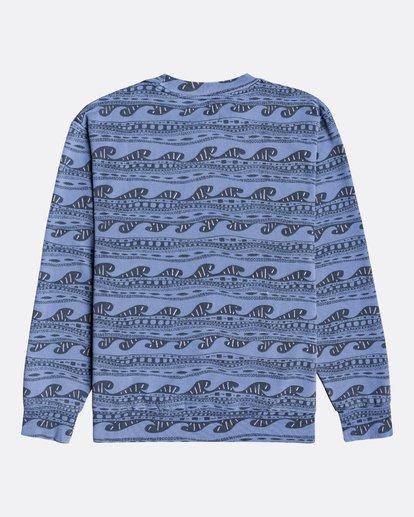 1 Wave Wash Halfrack - Sweatshirt für Männer Blau U1FL08BIF0 Billabong