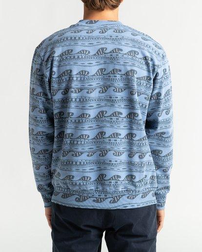 5 Wave Wash Halfrack - Sweatshirt für Männer Blau U1FL08BIF0 Billabong