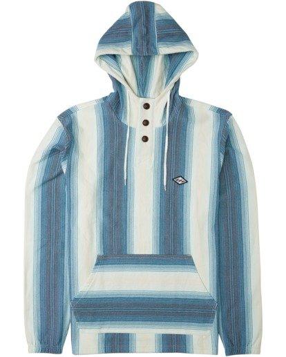 0 Rancho - Sudadera con capucha para Hombre Azul U1FL19BIF0 Billabong