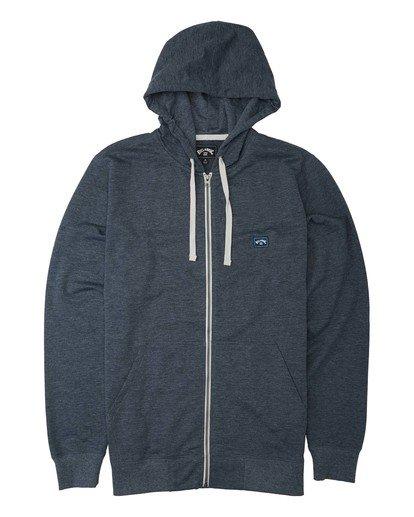 4 All Day Zip - Sudadera con capucha para Hombre Azul U1FL20BIF0 Billabong