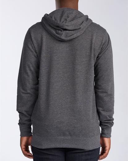 1 All Day Zip - Sudadera con capucha para Hombre Negro U1FL20BIF0 Billabong