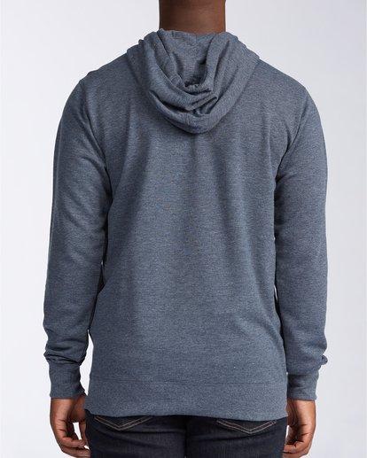 1 All Day Zip - Sudadera con capucha para Hombre Azul U1FL20BIF0 Billabong