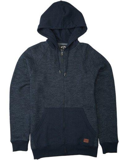 0 Balance Zip - Sudadera con capucha para Hombre Azul U1FL23BIF0 Billabong