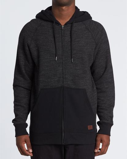 0 Balance Zip - Sweat à capuche pour Homme Noir U1FL23BIF0 Billabong