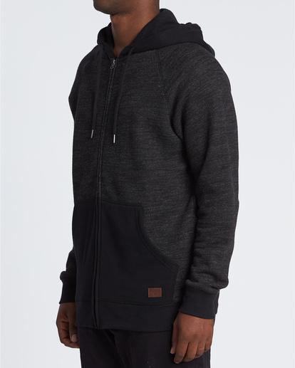 1 Balance Zip - Sweat à capuche pour Homme Noir U1FL23BIF0 Billabong