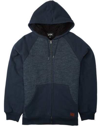 0 Balance Sherpa - Sudadera con capucha para Hombre Azul U1FL26BIF0 Billabong