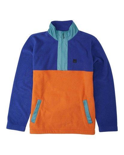 4 Adventure Division Collection Boundary Mock Lite - Mock Neck Fleece for Men  U1FL29BIF0 Billabong