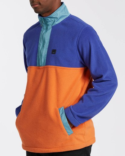 3 Adventure Division Collection Boundary Mock Lite - Mock Neck Fleece for Men  U1FL29BIF0 Billabong