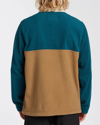 1 Adventure Division Collection Boundary Mock Lite - Polar de cuello alto para Hombre  U1FL29BIF0 Billabong
