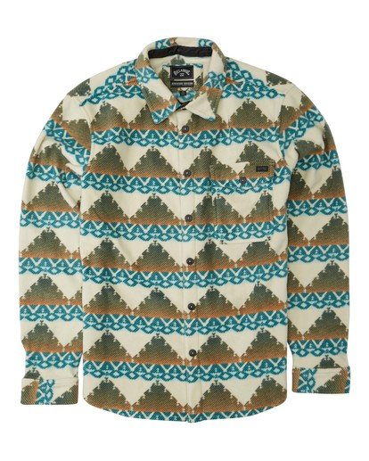 4 Adventure Division Collection Furnace Flannel - Polar para Hombre Beige U1FL31BIF0 Billabong