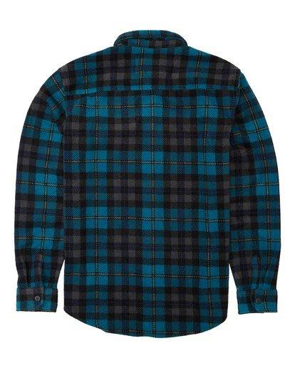 5 Adventure Division Collection Furnace Flannel - Fleece für Männer Blau U1FL31BIF0 Billabong