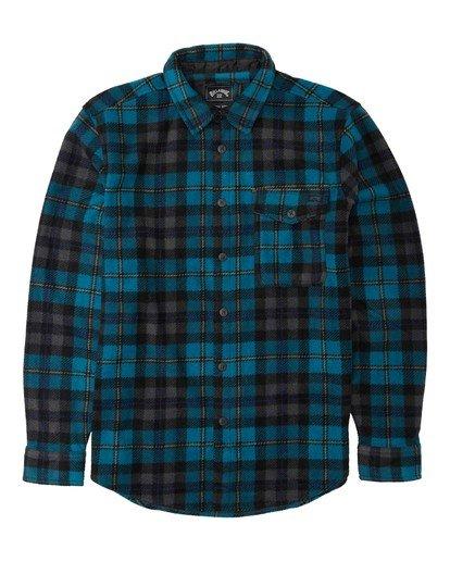 4 Adventure Division Collection Furnace Flannel - Fleece für Männer Blau U1FL31BIF0 Billabong