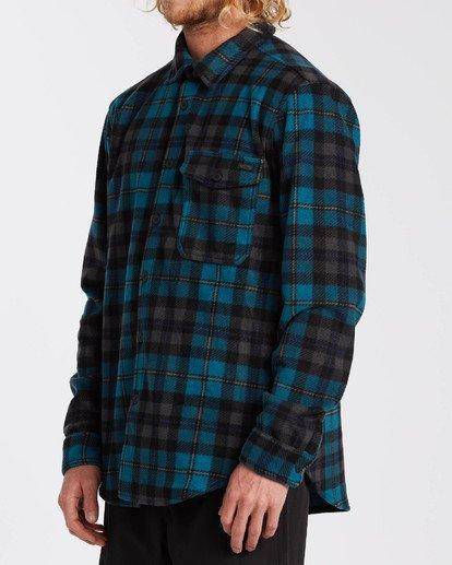 2 Adventure Division Collection Furnace Flannel - Fleece für Männer Blau U1FL31BIF0 Billabong