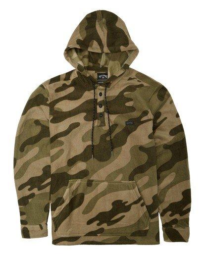 4 Adventure Division Collection - Half-Zip Fleece for Men Camo U1FL32BIF0 Billabong