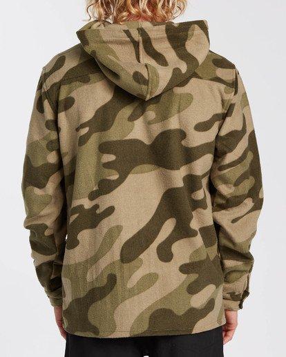 1 Adventure Division Collection - Half-Zip Fleece for Men Camo U1FL32BIF0 Billabong