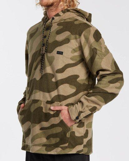 3 Adventure Division Collection - Half-Zip Fleece for Men Camo U1FL32BIF0 Billabong