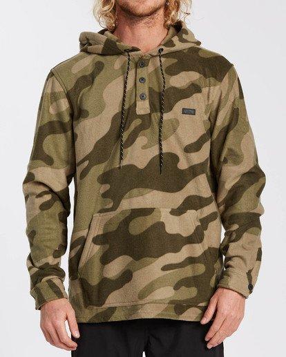 0 Adventure Division Collection - Half-Zip Fleece for Men Camo U1FL32BIF0 Billabong