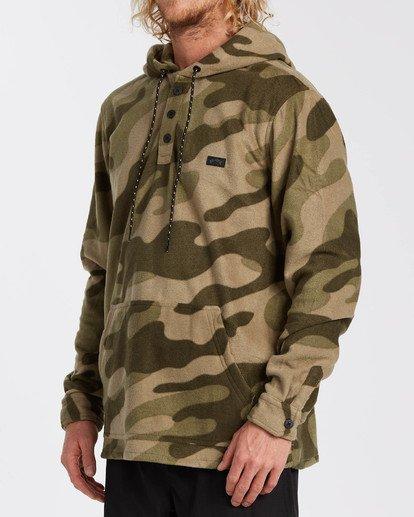 2 Adventure Division Collection - Half-Zip Fleece for Men Camo U1FL32BIF0 Billabong